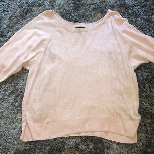 Light pink American Eagle thin sweater